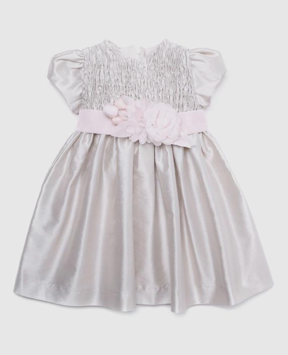 Детское жемчужное платье