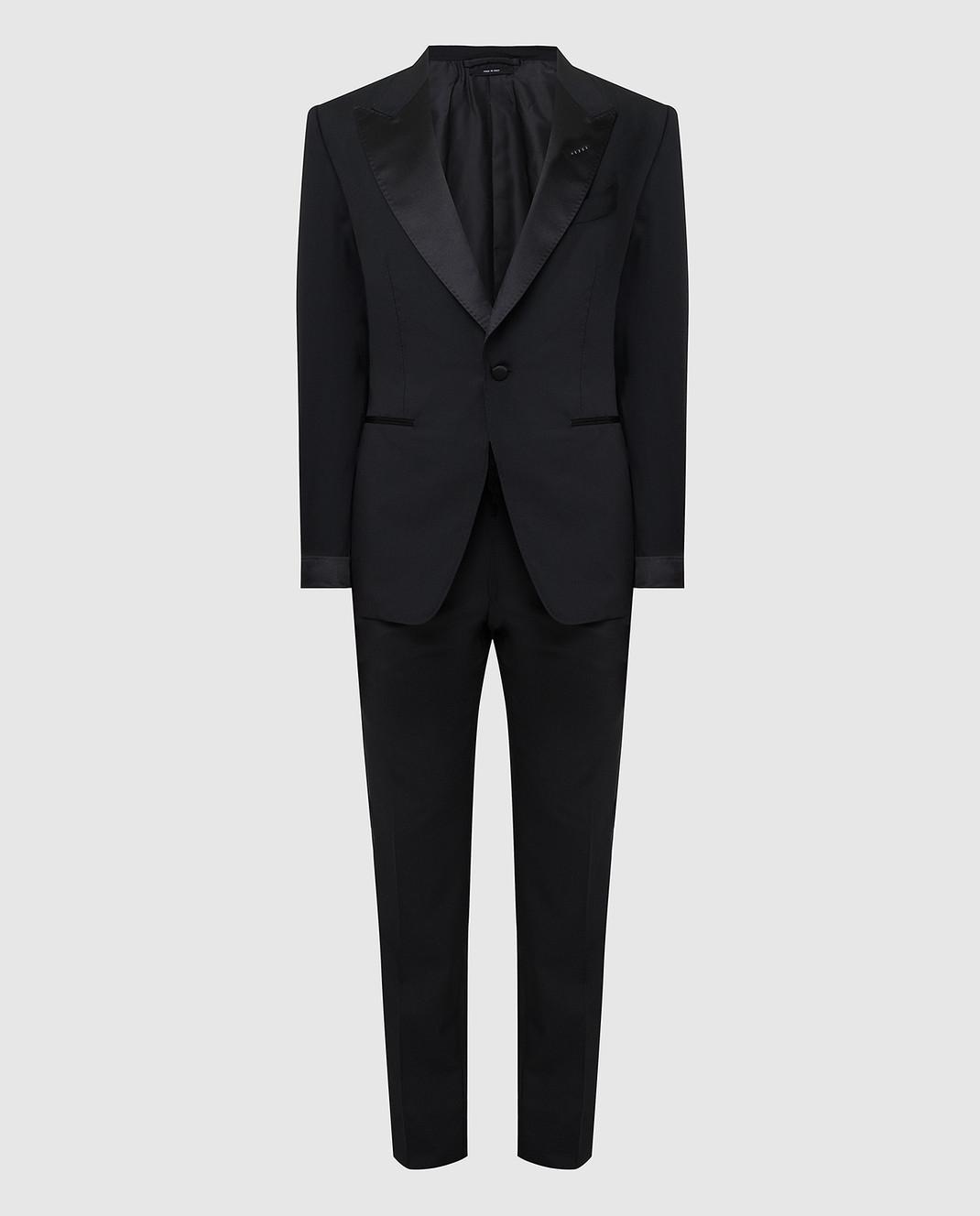 Tom Ford Черный костюм из шерсти изображение 1