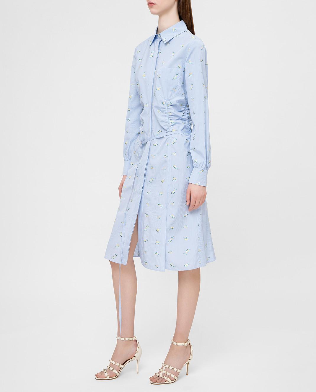 Altuzarra Голубое платье изображение 3