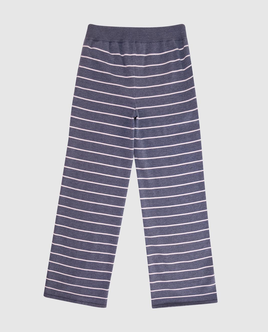 Loro Piana Детские серые брюки F1FAI0610 изображение 2