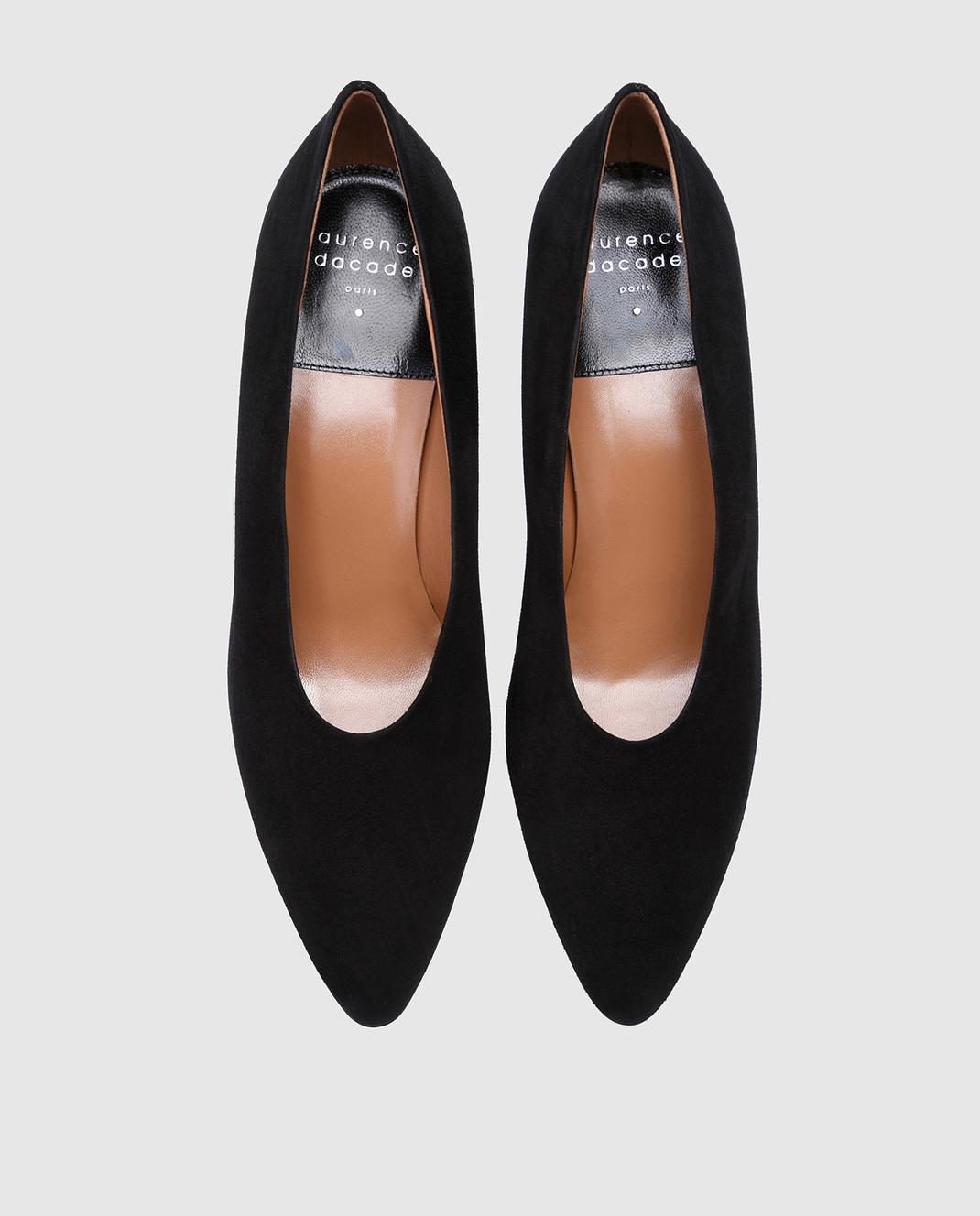 Laurence Dacade Черные замшевые туфли Sabi SABI изображение 4
