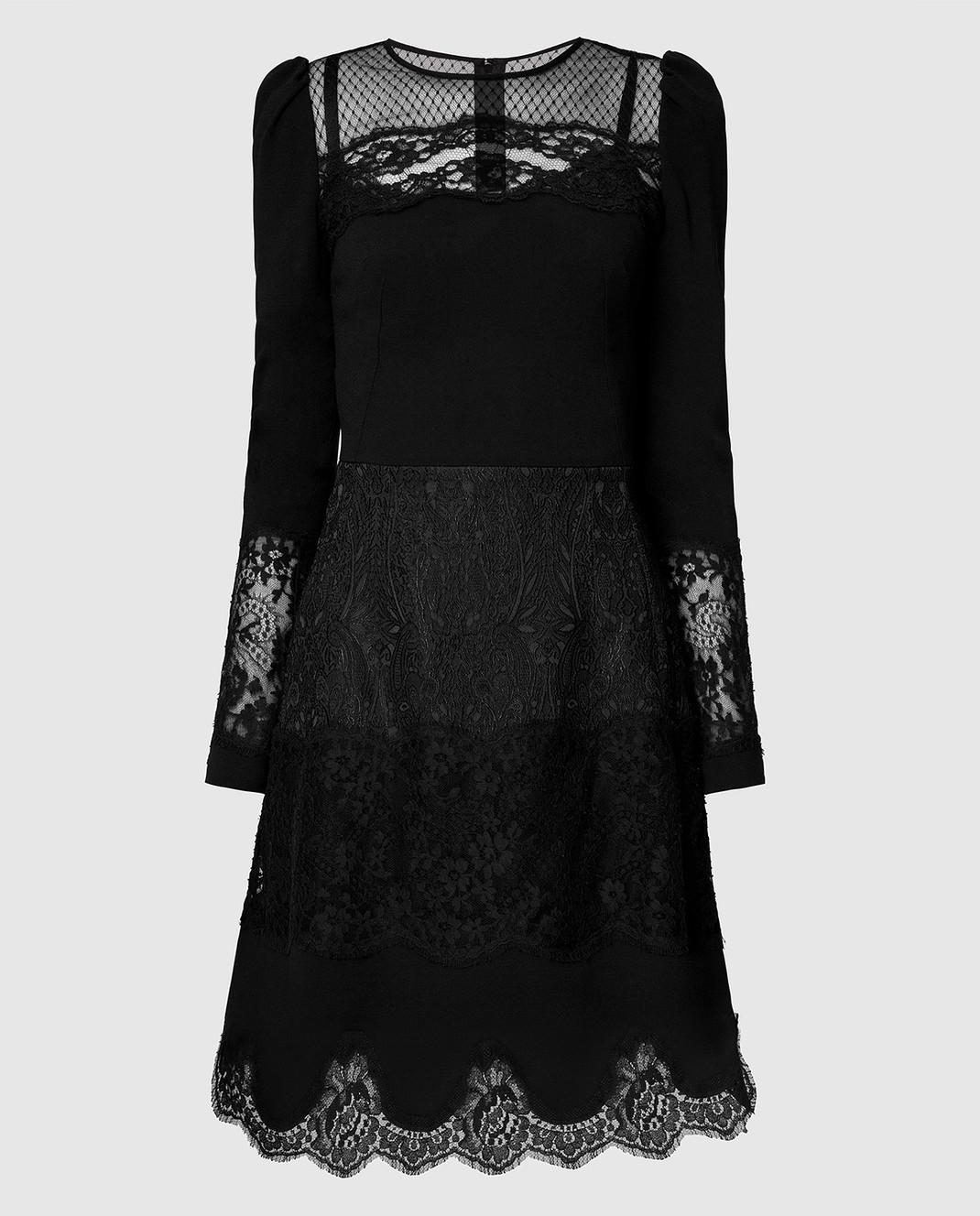 Dolce&Gabbana Черное платье F6C2STFURDV