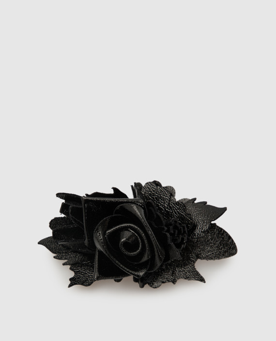 Черная брошь