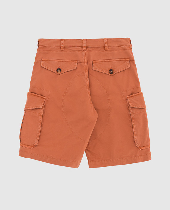 Детские оранжевые шорты hover