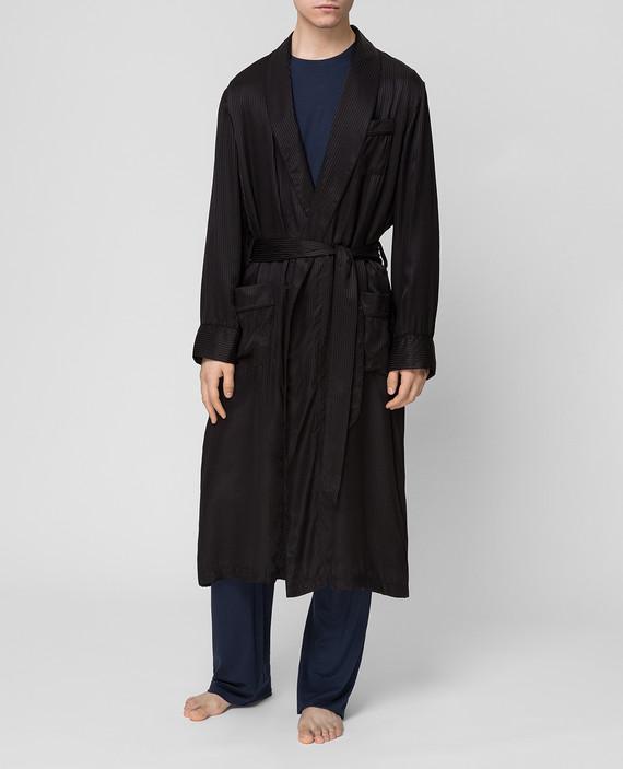 Черный халат hover