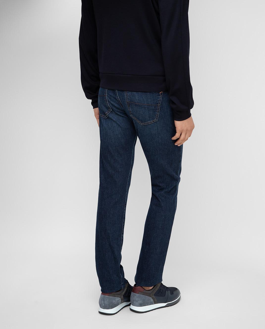 Tramarossa Темно-синие джинсы изображение 4