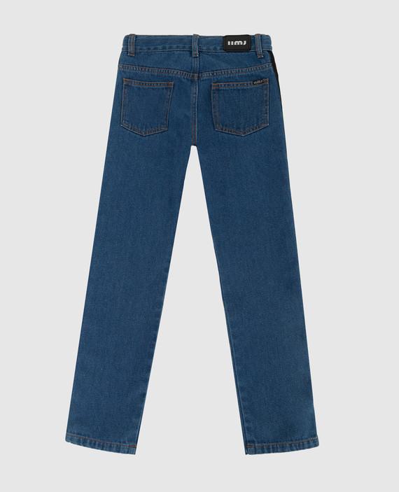Детские синие джинсы hover