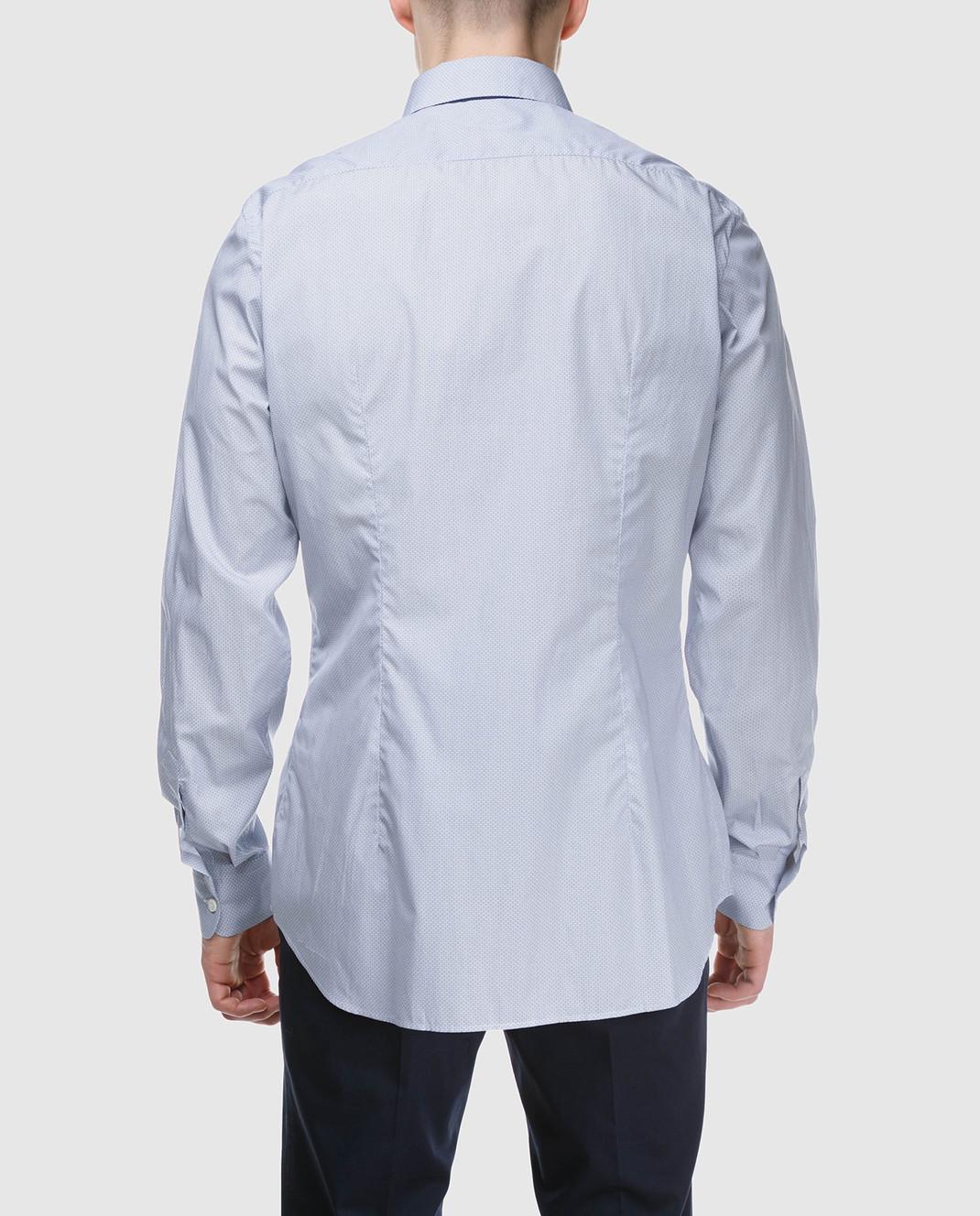 Prada Голубая рубашка UCM6081P9U изображение 4