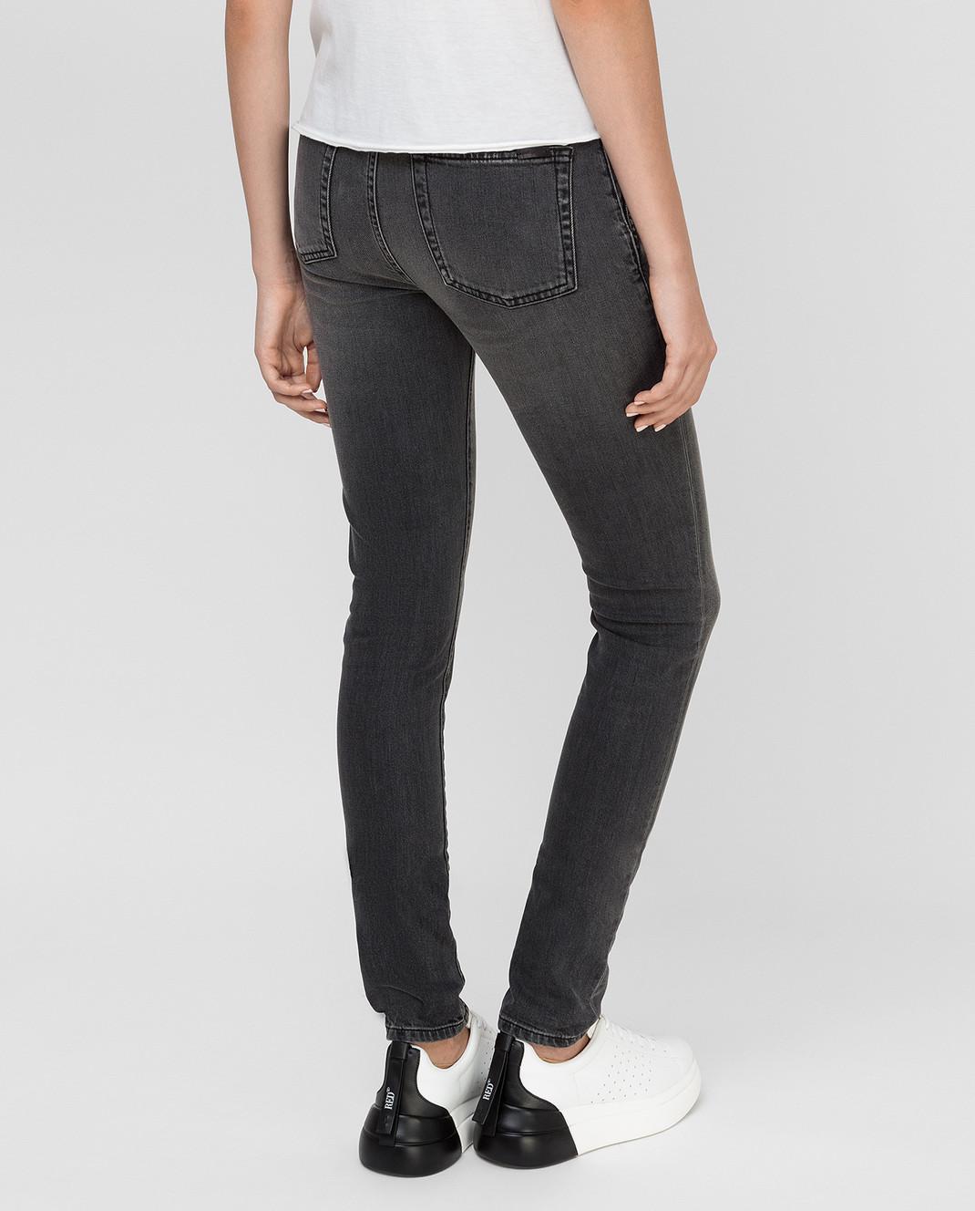 Saint Laurent Серые джинсы изображение 4