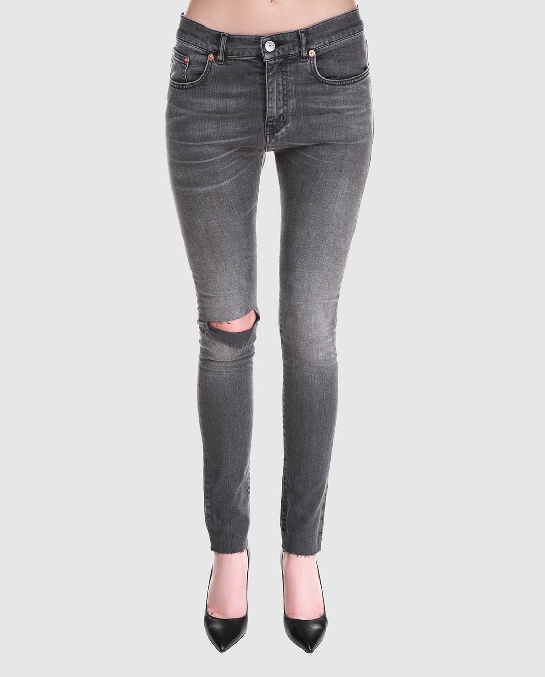Balenciaga Серые джинсы изображение 3