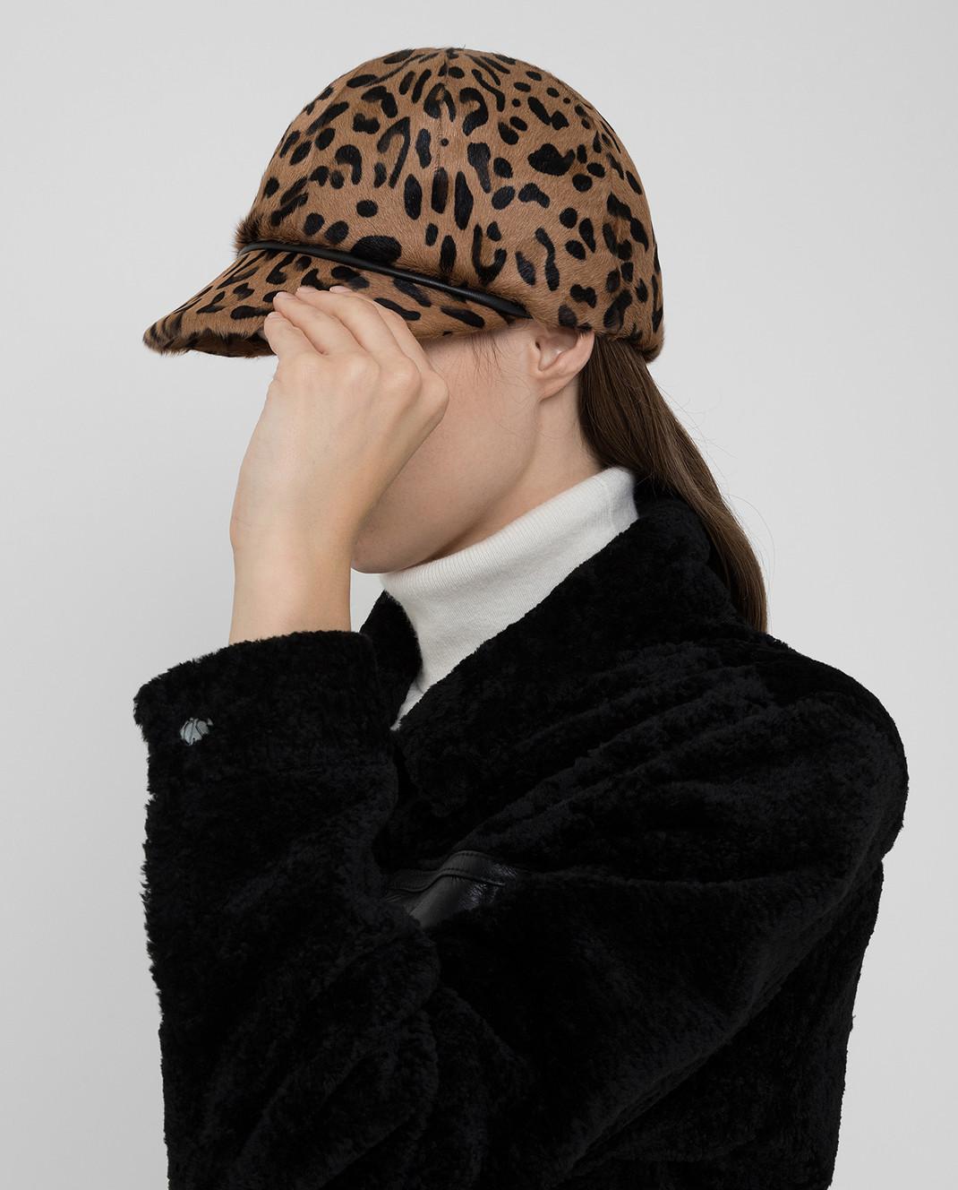 Simonetta Ravizza Бежевая шляпа изображение 2