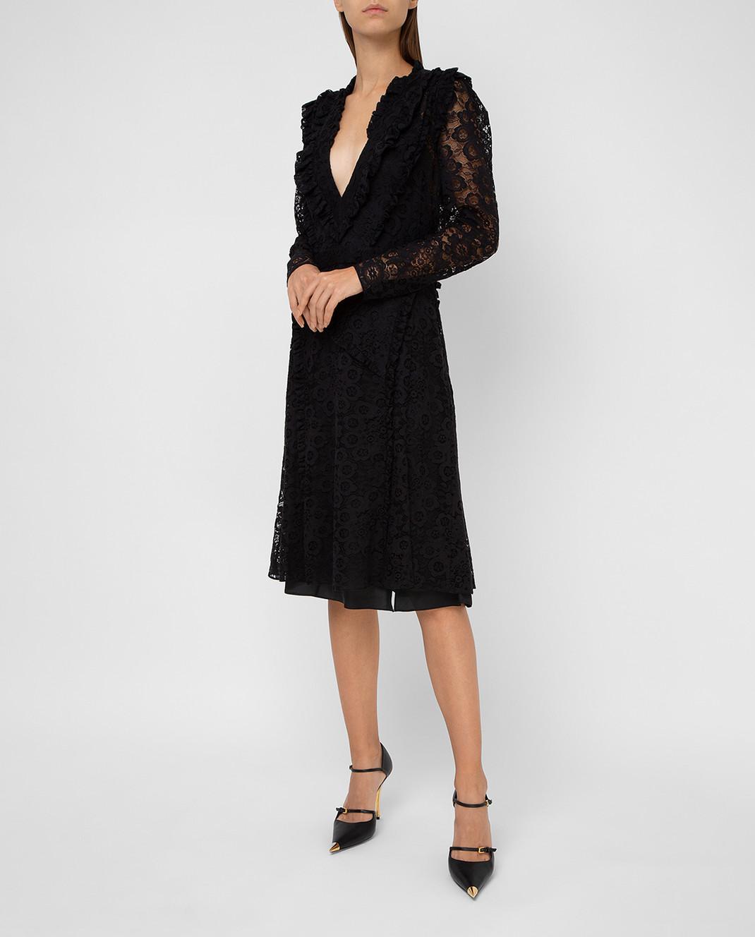 Altuzarra Черное платье 318316795 изображение 2