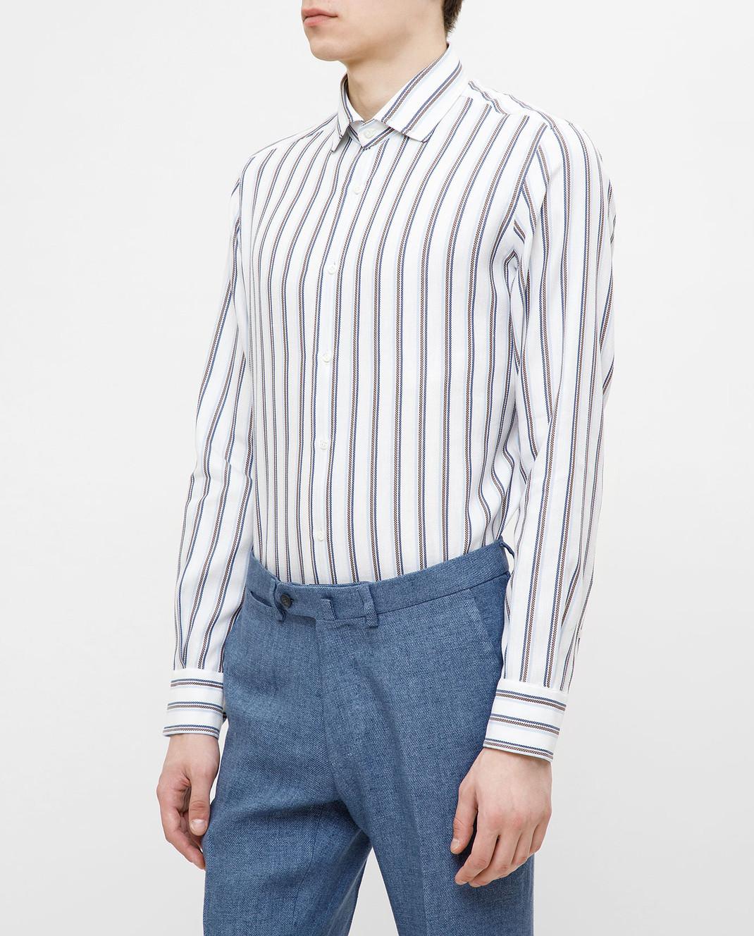Stile Latino Белая рубашка изображение 3