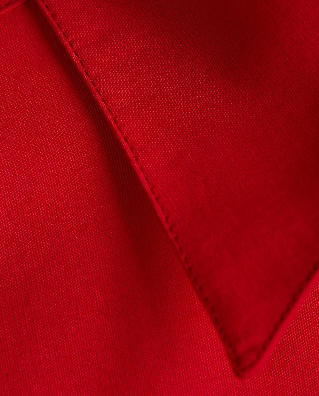 Azzedine Alaia Красная блуза 7S9C081RTL49 изображение 5