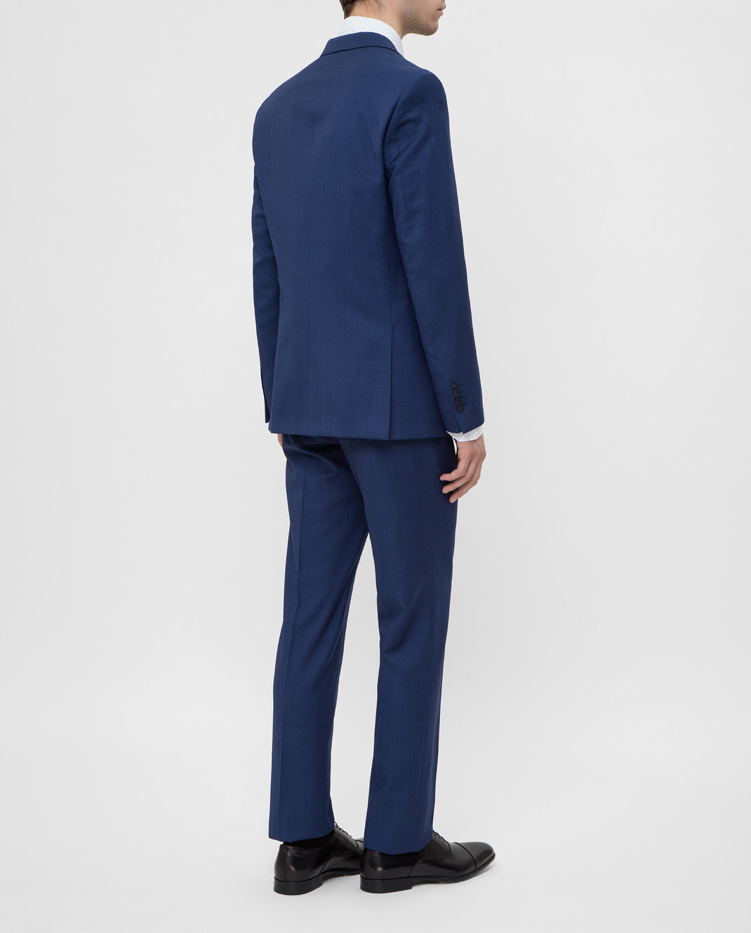 Florentino Синий костюм из шерсти изображение 4
