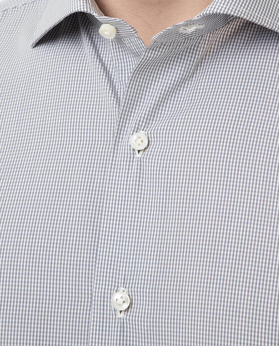 Luciano Lombardi Серая рубашка 990631 изображение 5