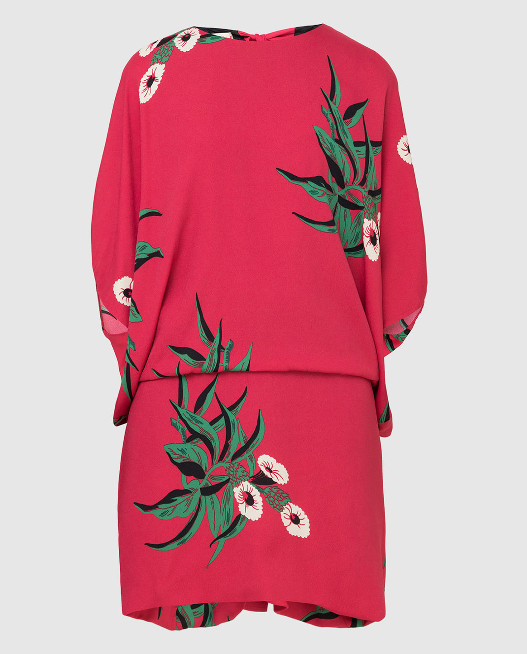 Marni Малиновое платье ABMAR17U00TV392