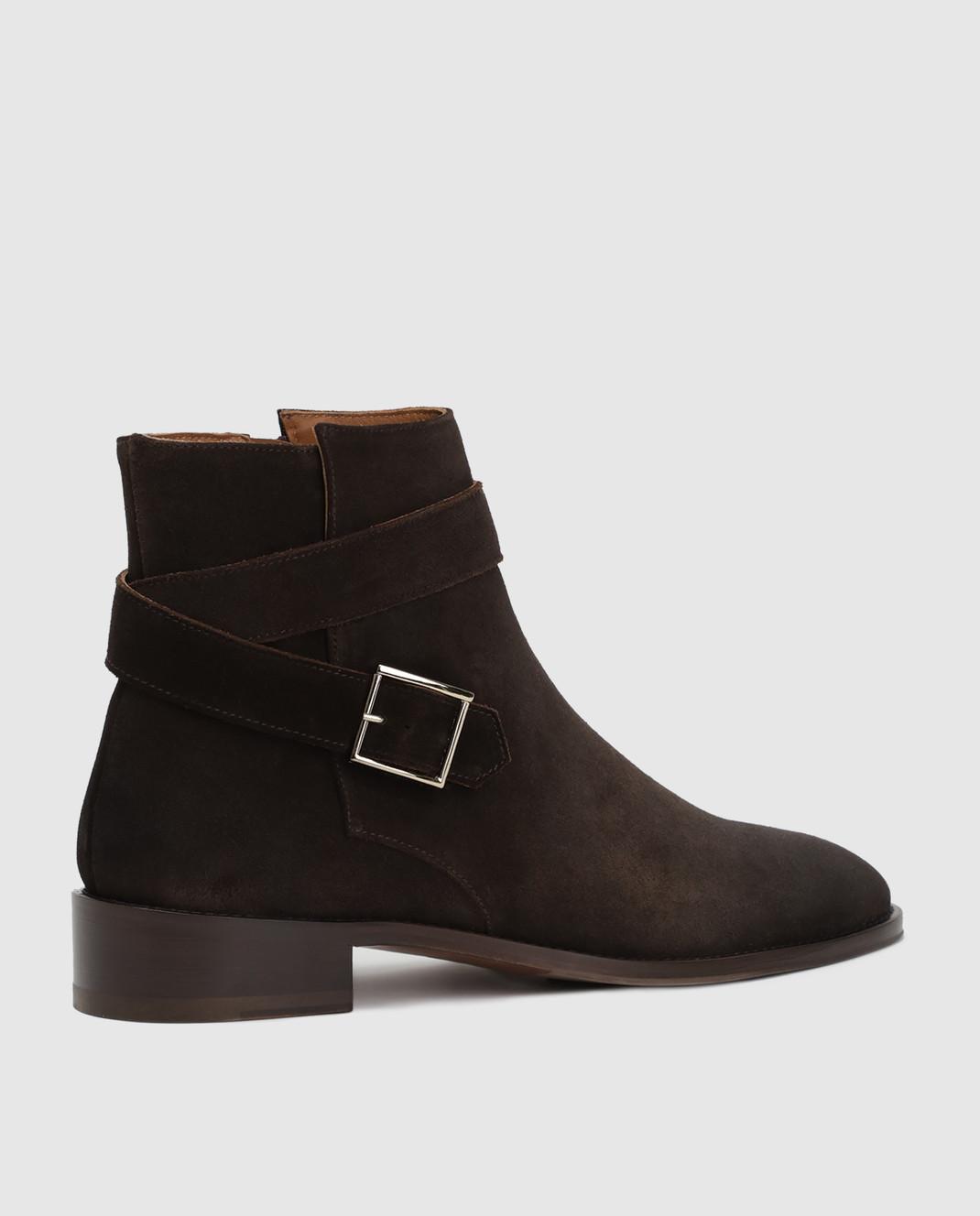 Doucal's Коричневые замшевые ботинки DD8252PATCUF083 изображение 3