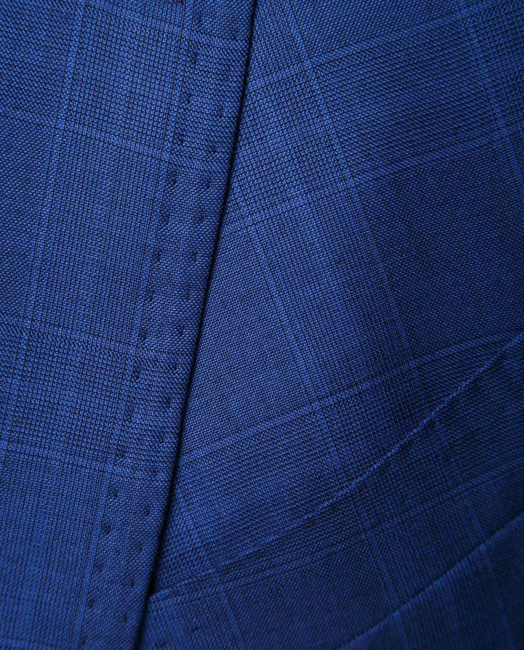 Stile Latino Синий костюм из шерсти AULUCA20A21SWA14 изображение 6