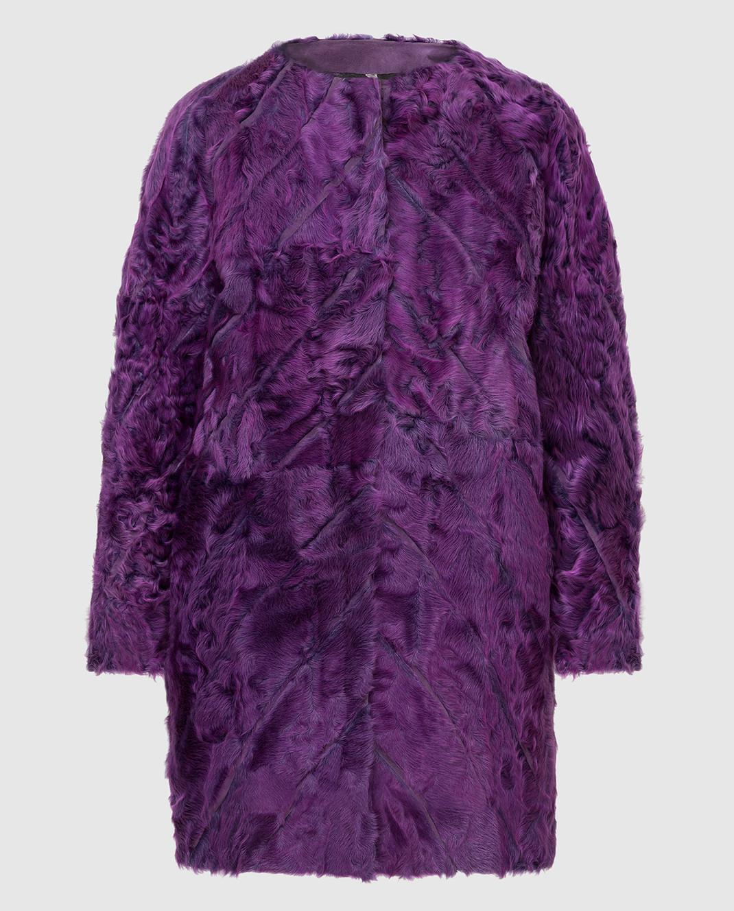 Rindi Фиолетовая шуба 071AG0J4