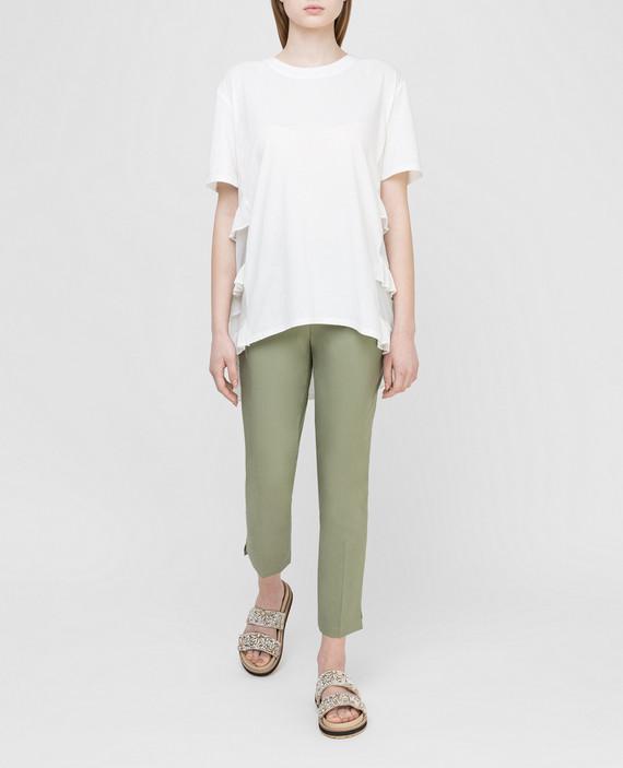 Зеленые брюки hover