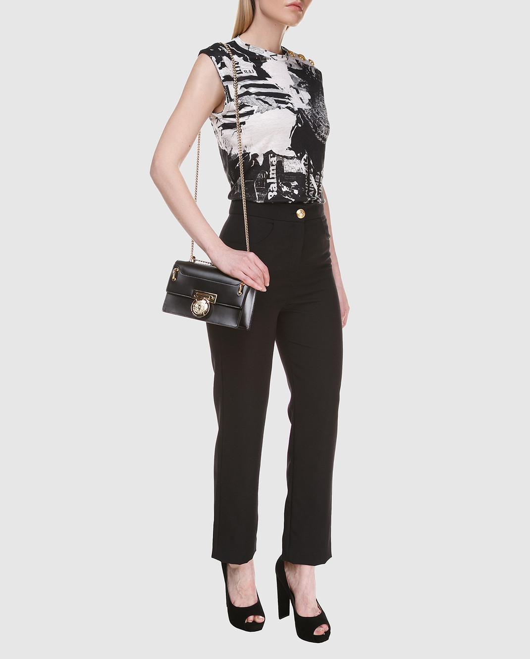 Balmain Черные брюки 135104 изображение 2