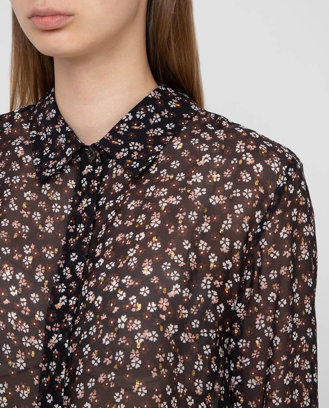 Altuzarra Черная блуза из шелка 418414848 изображение 5