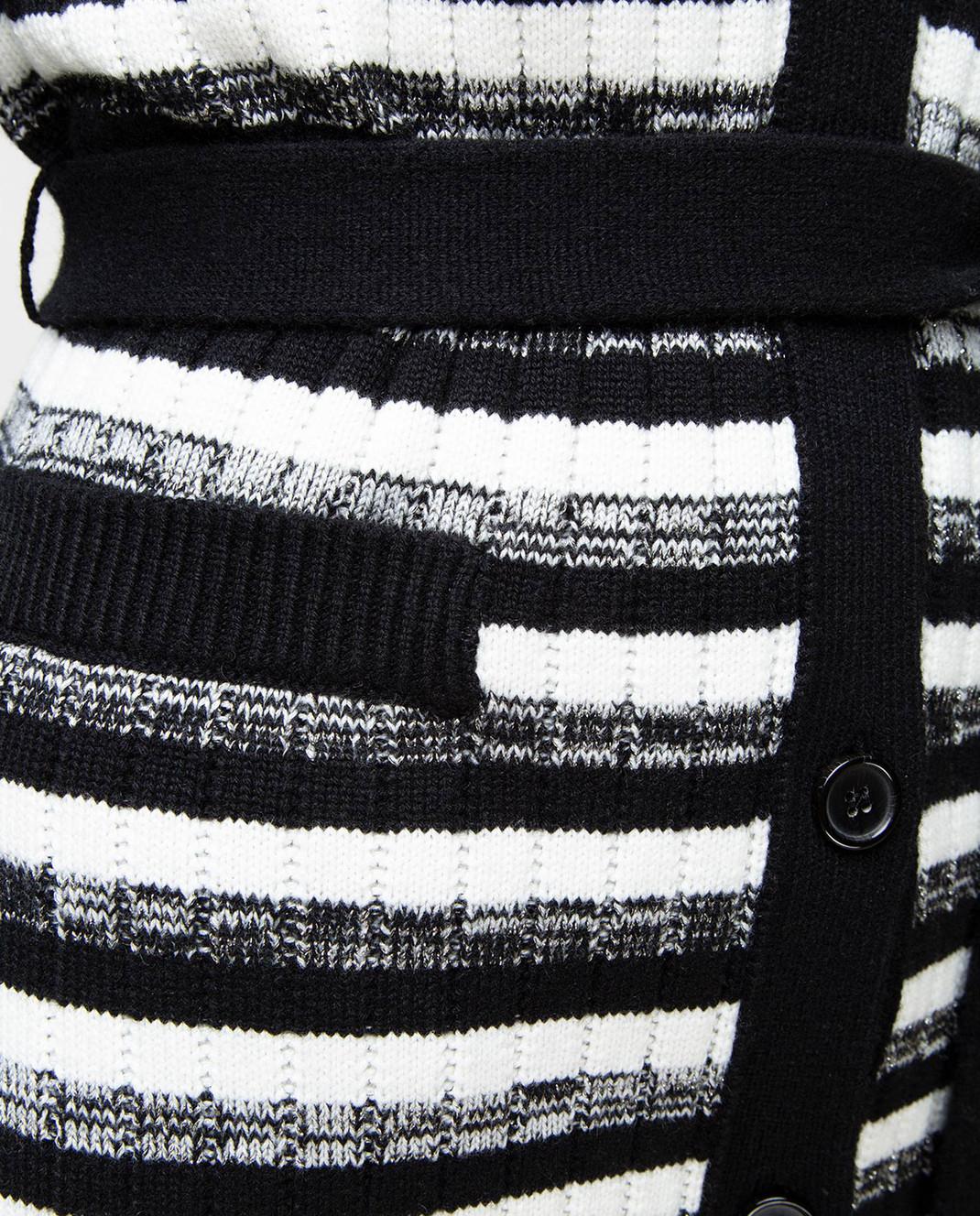 Dolce&Gabbana Черный кардиган FX269TJAMKH изображение 5