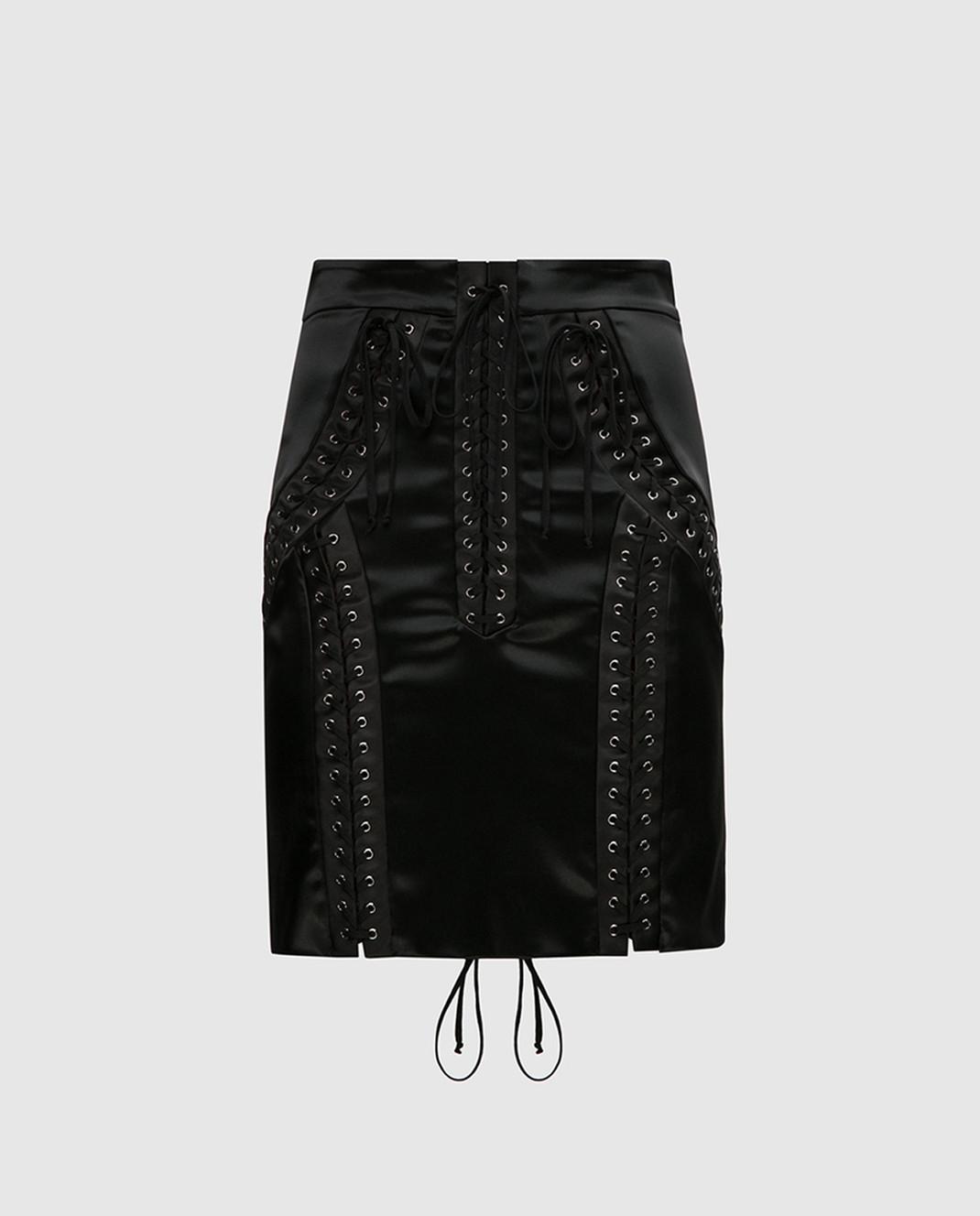 Dolce&Gabbana Черная юбка F4BHKTFURAD