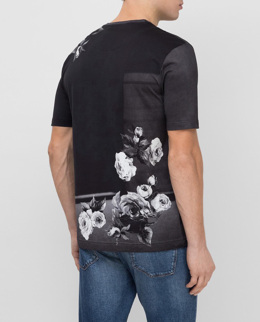 Dolce&Gabbana Черная футболка G8GW5TFP718 изображение 4