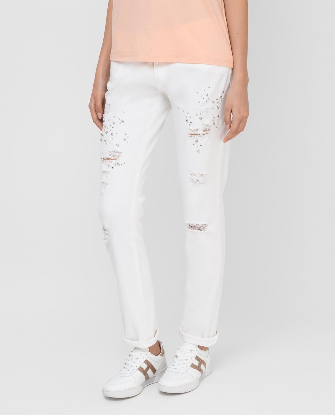 Blugirl Белые джинсы 1502 изображение 3