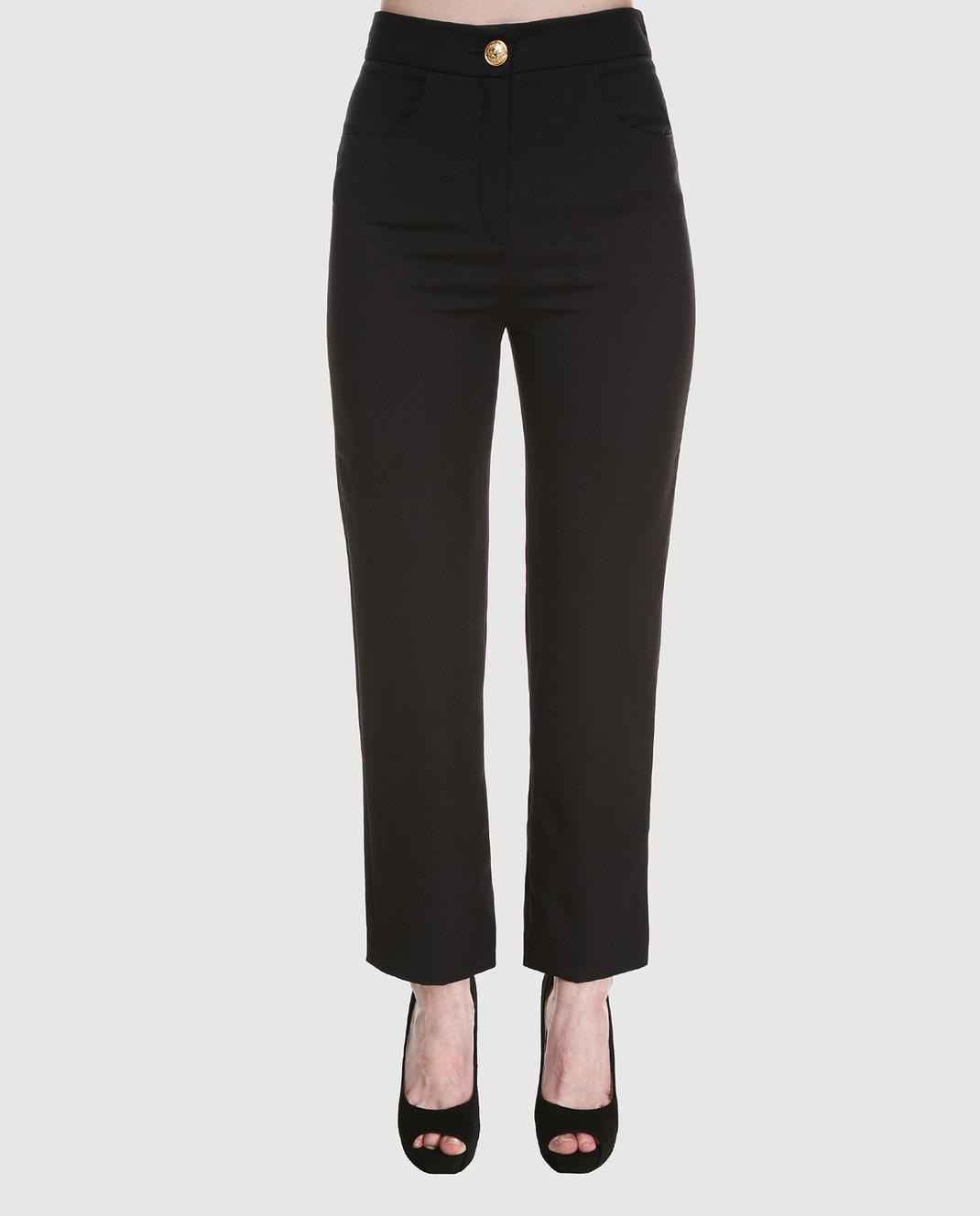 Balmain Черные брюки 135104 изображение 3