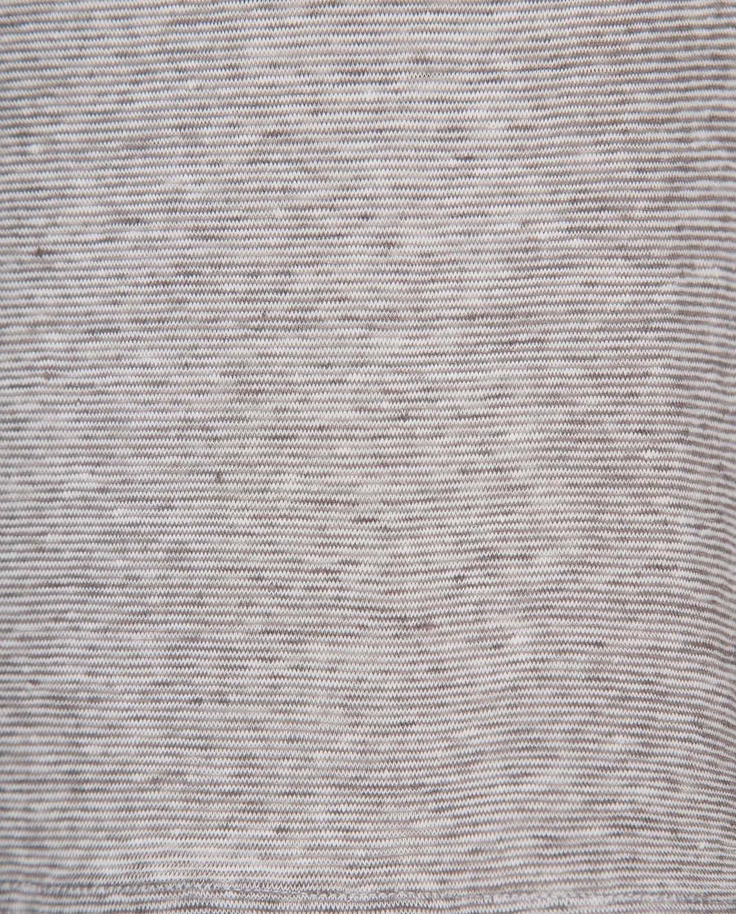 Eleventy Серый топ из льна 980TS0053 изображение 5