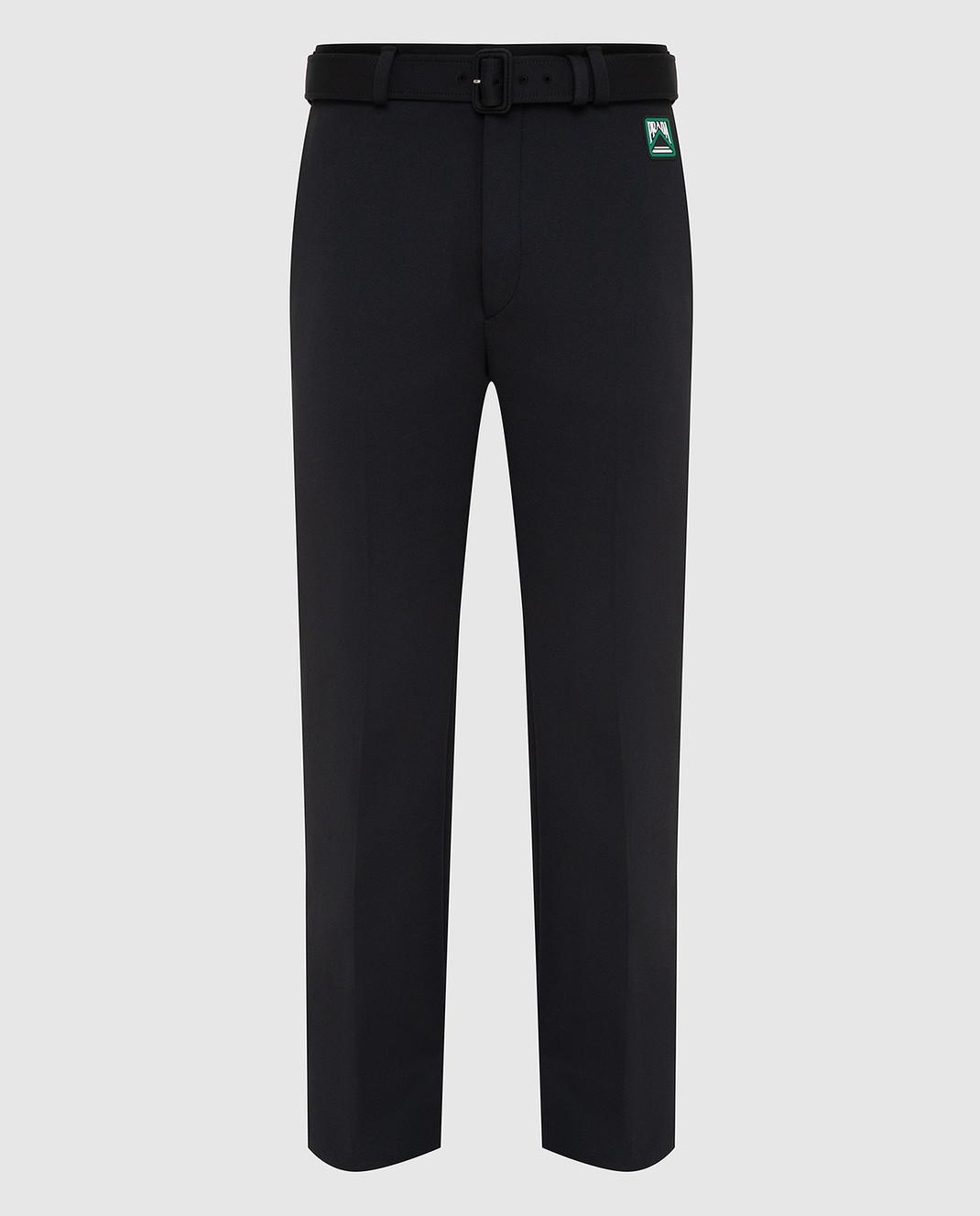 Prada Черные брюки UP00391TQX