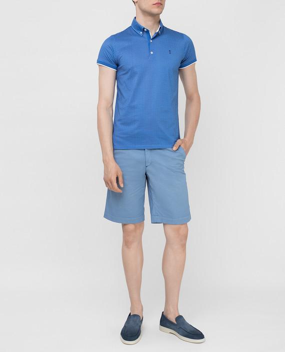 Голубые шорты hover