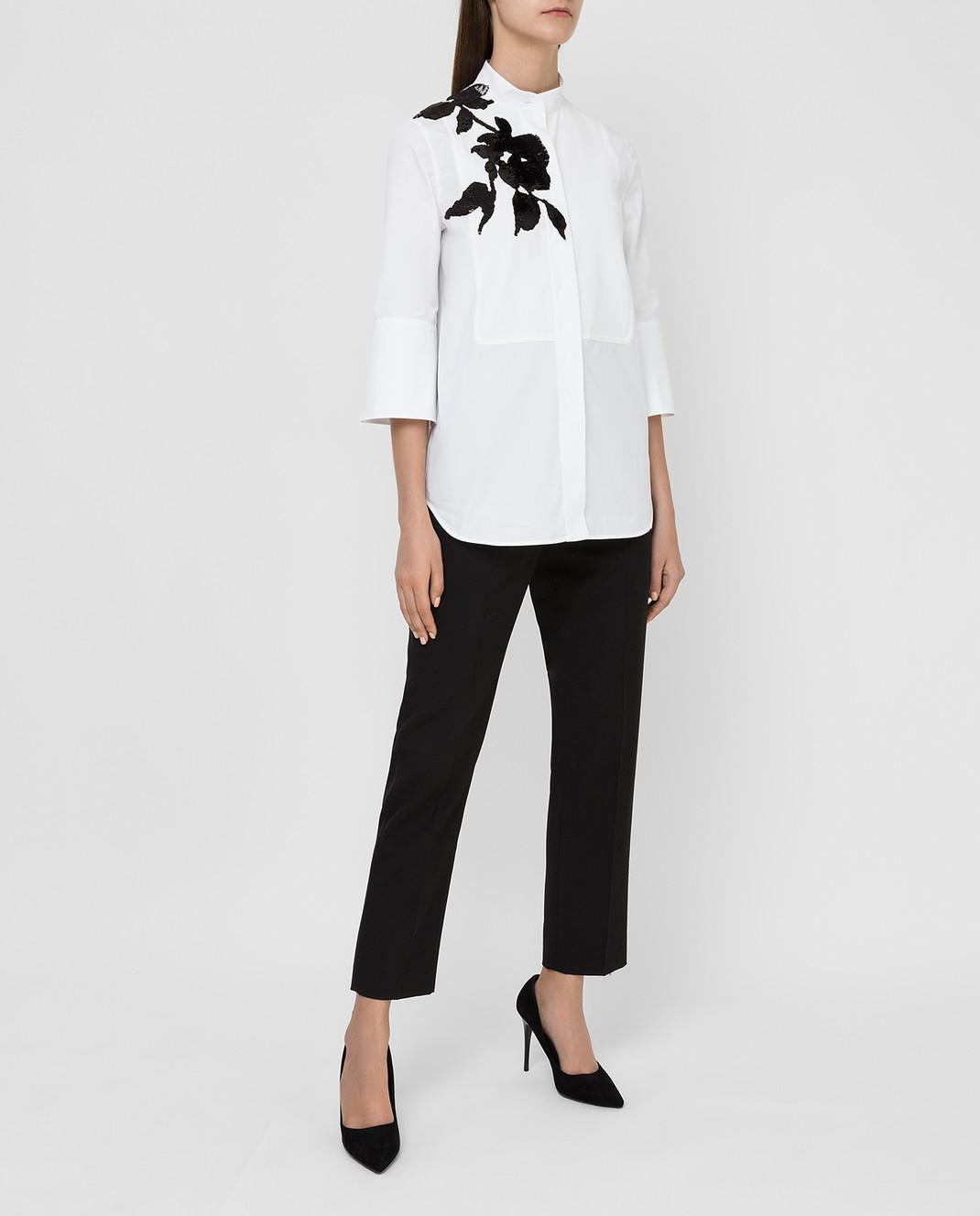 Valentino Белая рубашка изображение 2