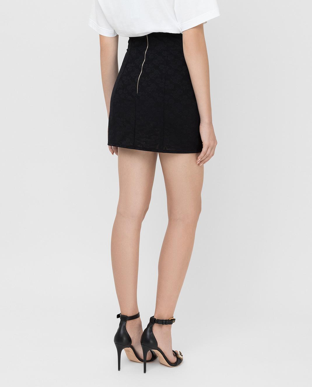Dolce&Gabbana Черная юбка изображение 4