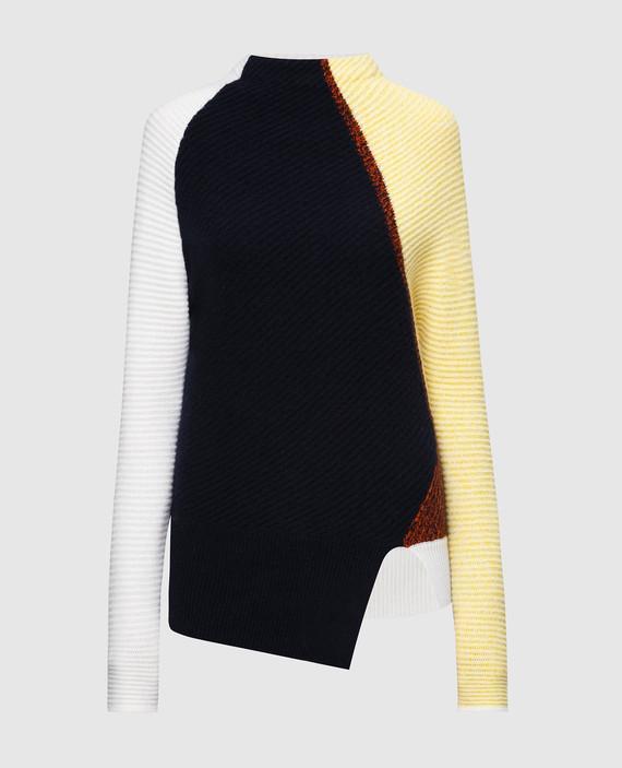 Темно-синий свитер из кашемира