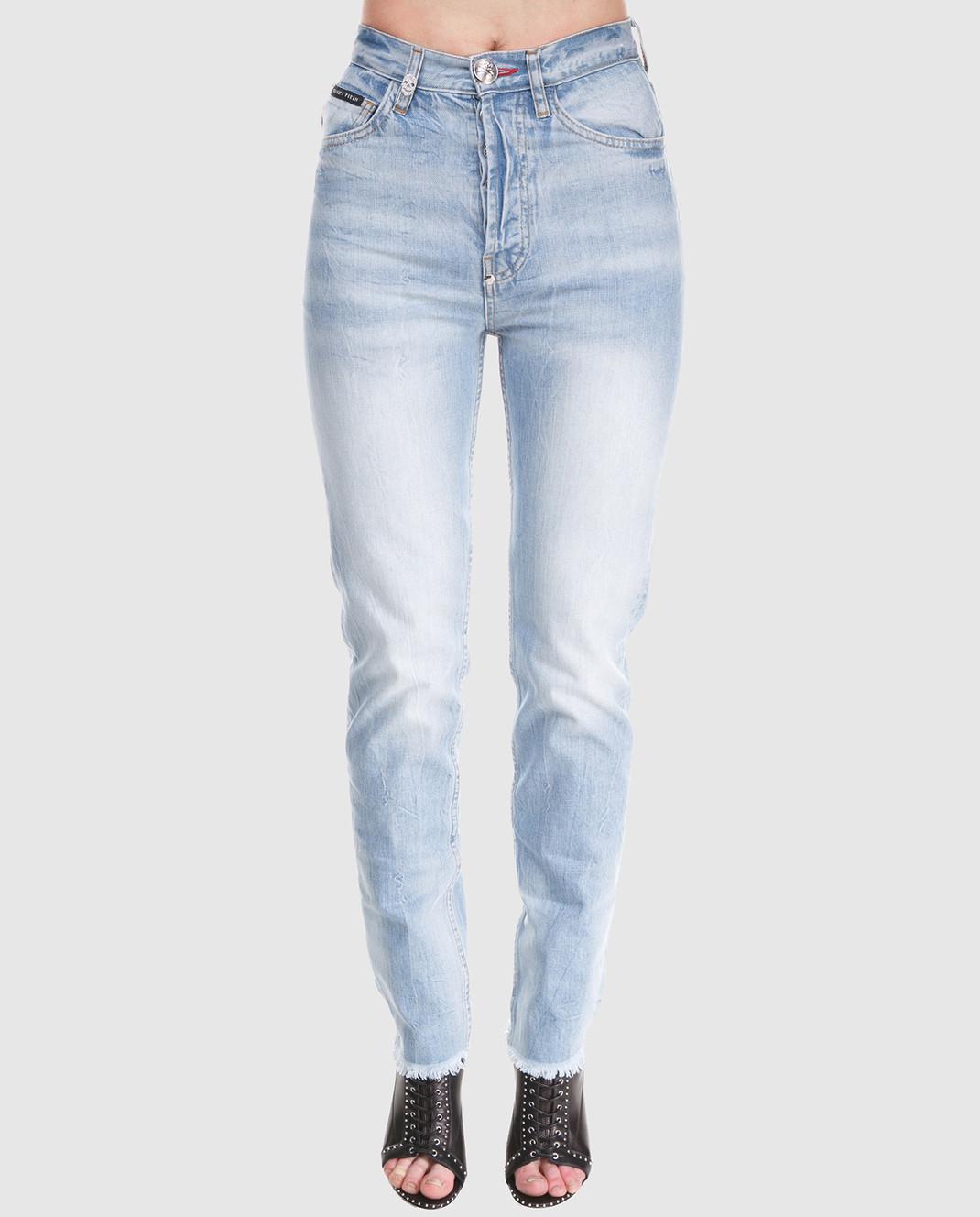 Philipp Plein Голубые джинсы изображение 3
