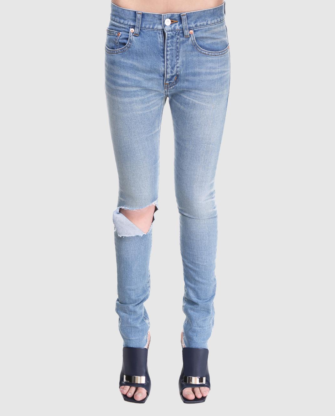 Balenciaga Голубые джинсы изображение 3