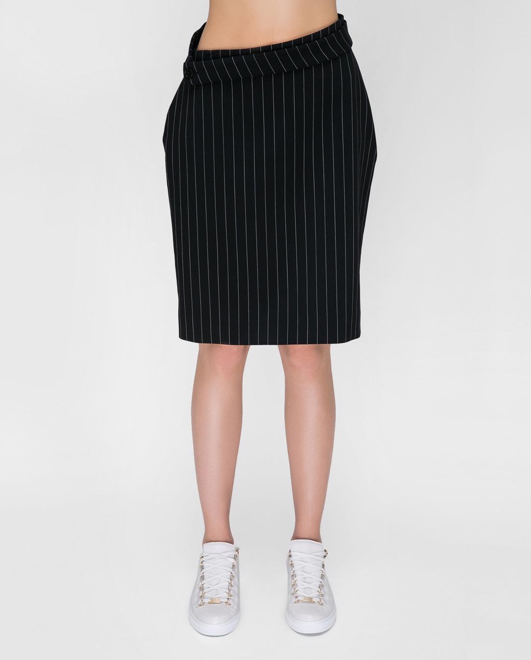 Balenciaga Черная юбка 471020 изображение 3