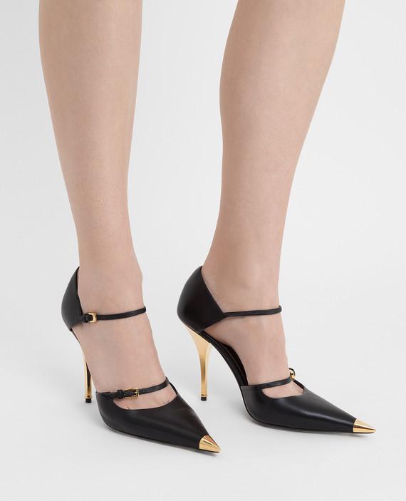 Черные кожаные туфли hover