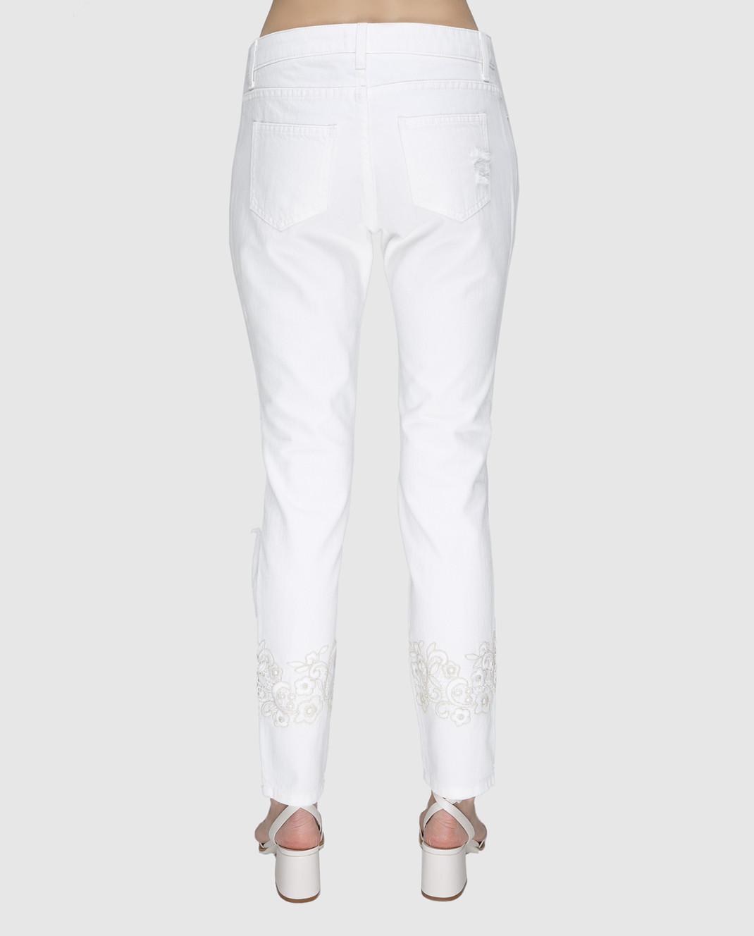 Ermanno Белые джинсы JL09 изображение 4