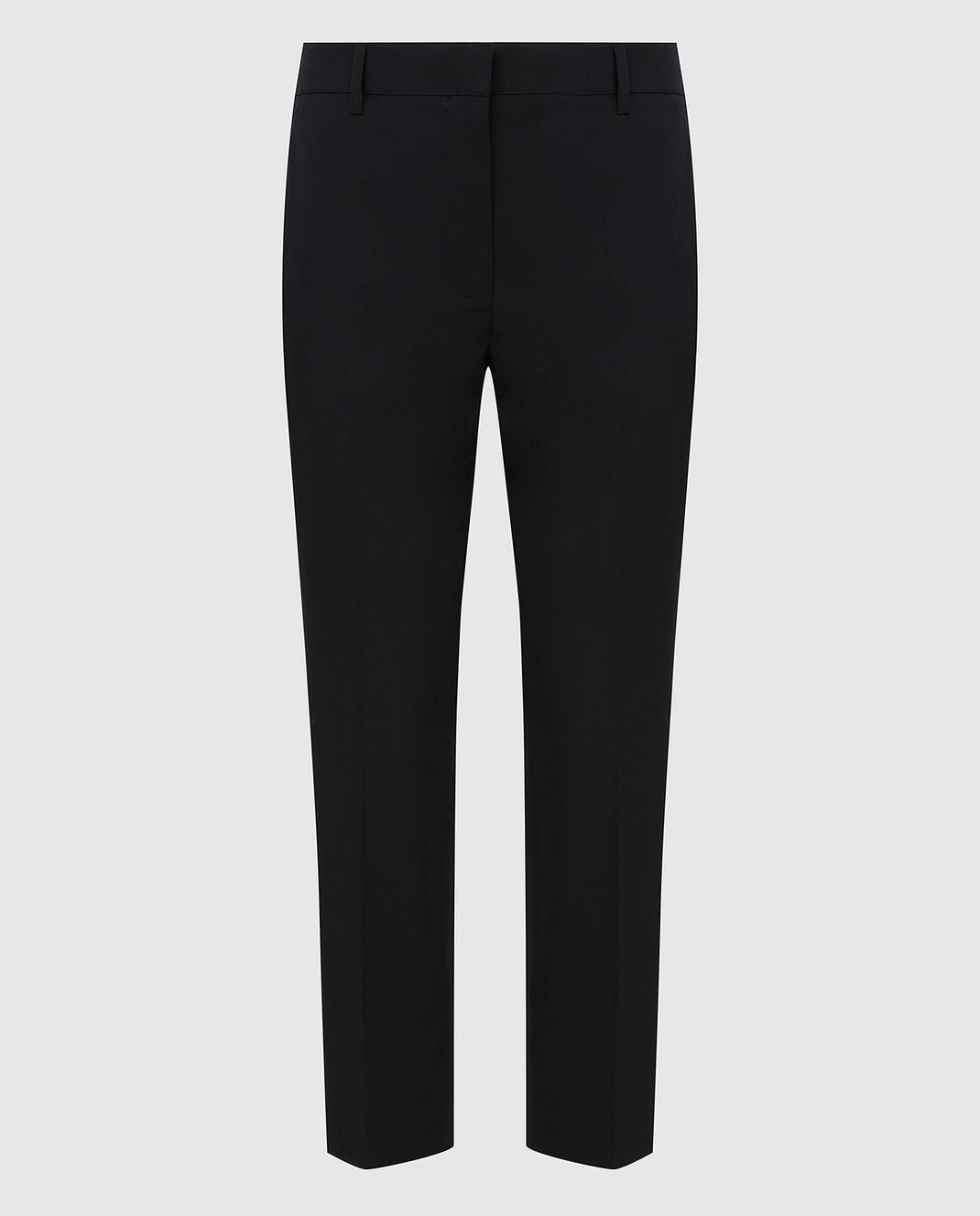 Lanvin Черные брюки из шерсти изображение 1