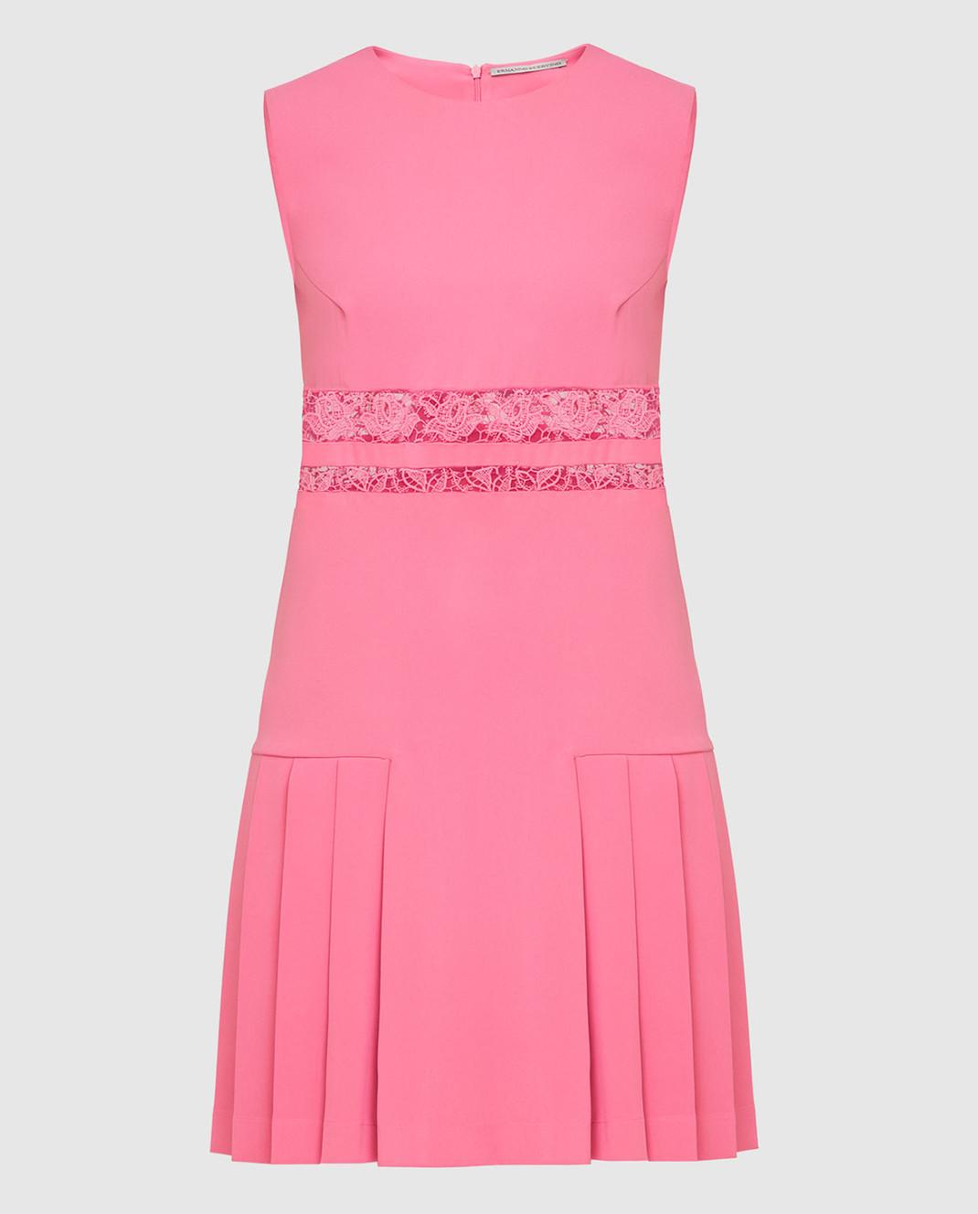 Ermanno Scervino Розовое платье D262Q365CYX