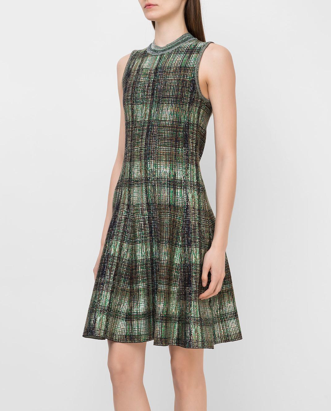 Victoria Beckham Платье из шелка и шерсти DRKNT6455 изображение 3