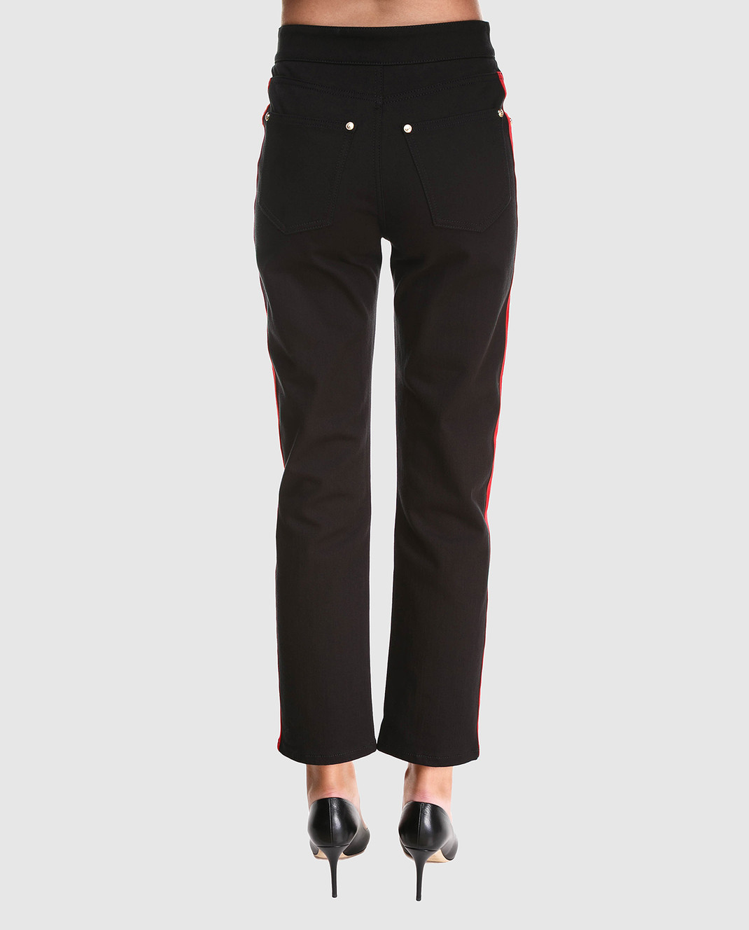 Balmain Черные джинсы 145481 изображение 4