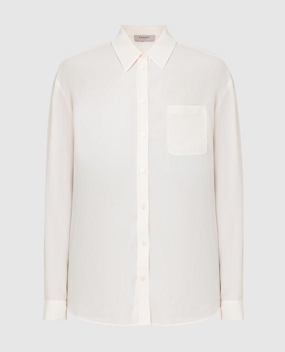 Светло-бежевая блуза