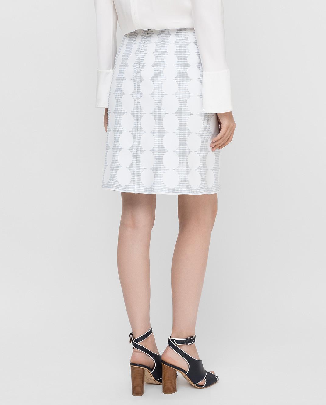 Azzedine Alaia Белая юбка изображение 4