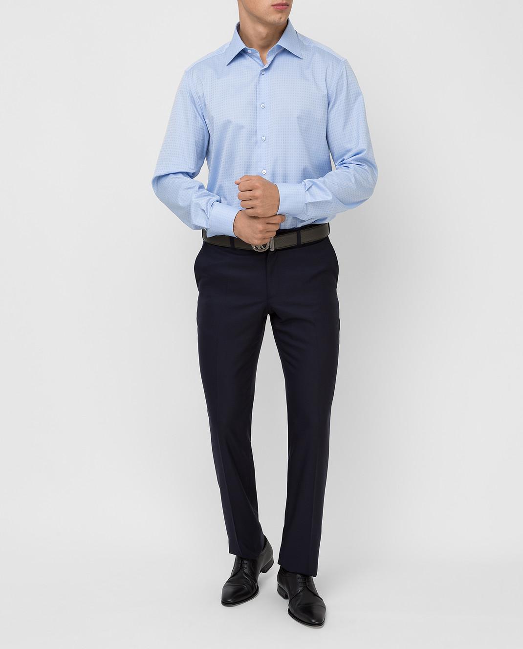 Stefano Ricci Голубая рубашка изображение 2